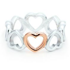 Tiffany Rings Tiffany Hearts Ring-$34.15