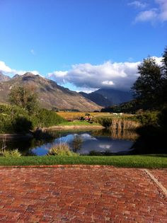 Glenwood wine estate, Franschhoek, South Africa