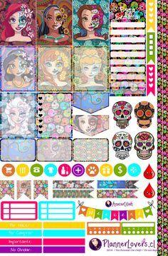 Death Princesses Printable Stickers by AnacarLilian.deviantart.com on @DeviantArt