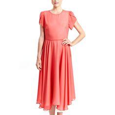 Addie Dress Coral
