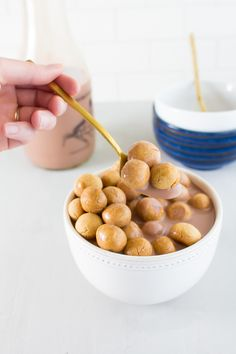 Peanut Butter Cookie Cereal | immaEATthat.com | YEP.