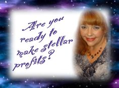 Come join me for a 90 minute training that will help you to soar to new heights! http://www.angelarts.biz/AngelArts/Stellar_Profits_Teleseminar.html