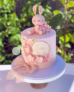 Girly Birthday Cakes, Baby Girl Birthday Cake, Candy Birthday Cakes, Elegant Birthday Cakes, Girly Cakes, Baby Girl Cakes, Beautiful Birthday Cakes, Cute Cakes, Gateau Baby Shower