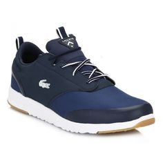 Lacoste Mens Dark Blue L.IGHT 2.0 REI Trainers