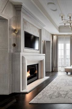 A  project that inspires Covet House, the way all the elements are in perfect harmony is truly magic and art! Modern Luxury Bedroom, Luxurious Bedrooms, Luxury Interior, Interior Design, Dream House Interior, Luxury Homes Dream Houses, Room Partition Designs, Rich Home, Inspire Me Home Decor