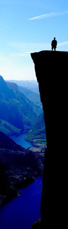 Foto deStavanger (Noruega): Preikestolen - Pulpit Rock