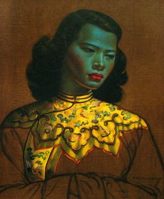 Vladimir Tretchikoff - The Chinese Girl, South Africa's Mona Lisa