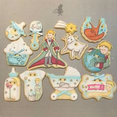 Little Prince Cookie Set