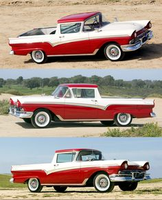 1957 #Ford Ranchero Custom 300 #Pickup. QuirkyRides.com #quirky #cars for…