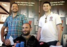 #WinaCT - Le podium du Main Event. #winamax #poker