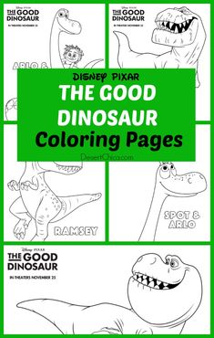 The Good Dinosaur Coloring Pages - Post your art to our Wyoming Office of Tourism Facebook page! Go see the movie which opens November 25!
