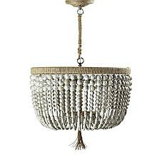 Malibu Chandelier by Serena and Lily... Wish I could find a way to make this myself!