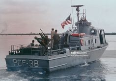 View of a United States Navy swift patrol boat operating off the coast of South Vietnam during the Vietnam war on June Swift Boats are used to inspect Vietnamese junks and intercept. Get premium, high resolution news photos at Getty Images Vietnam History, Vietnam War Photos, South Vietnam, Vietnam Veterans, Naval History, Military History, Brown Water Navy, War Novels, Navy Girlfriend