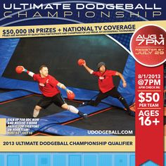 Sign up for the Ultimate Dodgeball Championship today! #skyzonecovina #skyzone #fun #jump #covina #california #igers #bounce #kids #teenagers #trampoline #love #instagood #me #cute #picoftheday #play #fitness #health #foampit #exercise #openjump #gymnastics #jumphigh #tumbling #workout #fit #fitness #trampoline #birthdayparty (626) 331-3208 1314 North Azusa Ave. Covina, CA 91722