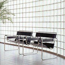 Marcel Brauer Wassily chairs ... I own these, and they are absolute classics.