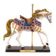"""Trail of Painted Ponies """"Bedazzled"""" Carousel Horse Figurine"""