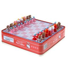 Sanrio chess set! I want this! Cuteness to the max <3