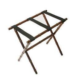 Buy Gate House Furniture Bamboo Luggage Rack With Nylon Straps. We Offer  Gate House Furniture In Many Colors, Sizes And Styles.