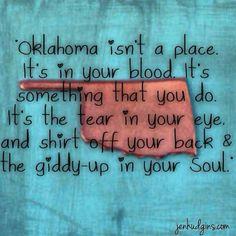 Oklahoma...