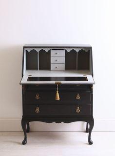 black-blue-writing-desk-bureau-open
