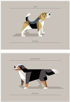 Dogs A series of dog art prints by Lumadessa | The Khooll