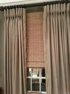 Nice window treatments...Thomasville Furniture