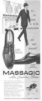 Massagic Esquire Air Cushion Shoes 1960 Ad Picture