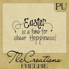 Easter Greetings . . . Sheer Card Inspiration! - Create with TLC: Monday Word Art Freebie.......... #Easter #tlcCreations
