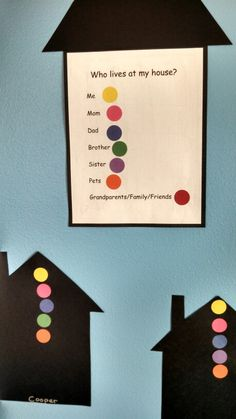 Pre-K My Family theme glyph Preschool Family Theme, All About Me Preschool Theme, Preschool Literacy, Preschool At Home, Preschool Themes, Family Crafts, Preschool Activities, Fall Preschool, Kindergarten