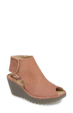 Fly London Fly London Yahl Open Toe Platform Wedge (Women) available at #Nordstrom