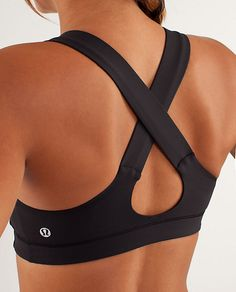 Lululemon All Sport Bra -  $52 would definitely be an upgrade from my Wal-Mart work out attire