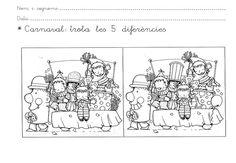 FITXES CARNAVAL - Herminia Arnau - Àlbums web de Picasa Vintage World Maps, Album, Crafts, Corridor, Infants, School Ideas, Google, Favorite Things, English