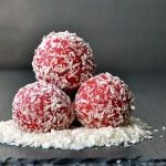 romkugle jordbær opskrift