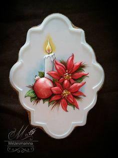 Christmas Candle: Mézesmanna, facebook