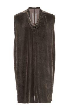 rick-owens-dark-grey-brown-silk-blend-velvet-cowl-neck-tunic-gray-product-3-759369980-normal.jpeg (JPEG Image, 750×1200 pixels)