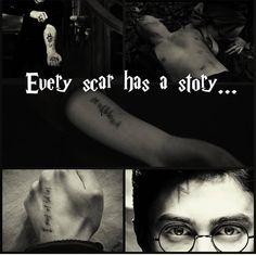 scars... . . . . . #harrypotter #ronweasley #hermionegranger #thegoldentrio #ginnyweasley #nevillelongbottom #lunalovegood #thesilvertrio #dracomalfoy #themarauders #hogwarts #dumbledore #gryffindor #slitherin #hufflepuff #ravenclaw #tomfelton #read #reading #theboywholived #happiness #light #dark #sad #dobby #glasses #dead #minerva #minervamcgonagall #fact