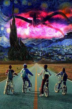 "cinexphile: """"Starry Stranger Night"" by Tibalto Rodiguez """