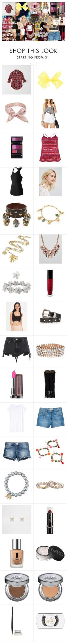 """""""Get The Look: Little Mix 'Wings' Inspired Outfits And Makeup!"""" by oroartye-1 on Polyvore featuring Abercrombie & Fitch, Forever 21, Boohoo, New Balance, Reclaimed Vintage, Alexander McQueen, Chanel, ALDO, Monsoon and Wet n Wild"""