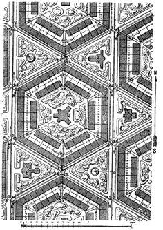 hexagonal urban grid
