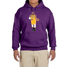5b1332d25ff5 Deetz Shirts PURPLE Los Angeles Lebron Hooded Sweatshirt