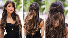 This Half Up French twist is a beautiful everyday hairstyle. I'm wearing my Ombre Chestnut Luxy Hair Extensions http://www.luxyhair.com Music: Coralie Clemen...