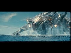 """Although Industrial Light & Magic's advanced fluid simulation system had been honored with a Sci-Tech Award from the Academy in 2007, for """"Battleship"""" the visual effects team knew they would have to completely re-engineer the system from the ground up if they were going to be able to meet the demands of Peter Berg's sci-fi epic."""