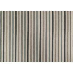 Momeni Baja Striped Indoor Outdoor Rug - 3'11'' x 5'7'',