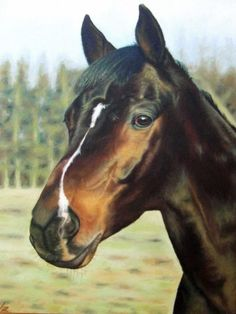 Russian Horse Painting