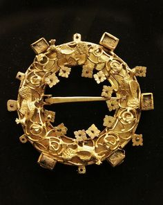 Jewellery, Hungarian, 12-13c  by Kotomicreations, via Flickr, Hungarian National Museum