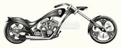 Bike Drawing, Chopper Motorcycle, Tricycle, Arts And Crafts, Clip Art, Drawings, Vehicles, Artwork, Sweet