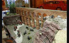 Acueducto Bridge, Sticker, Water, Births, Nativity Sets, Bridges, Dioramas, Miniatures, Xmas