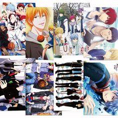 Camplayco Kuroko No Basuke Posters Placard Cosplay (a set of 8) >>> Click image to review more details.