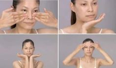 This Japanese facial massage will make you look 10 years younger! This Japanese facial massage will make you look 10 years younger! Yoga Facial, Face Yoga, Facial Hair, Facial Masks, Younger Skin, Look Younger, Fitness Workouts, Massage Facial Japonais, Anti Aging