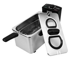 Chef Buddy Stainless Steel Electric Deep Fryer: for quality deep frying results give a chance to this cookware now offered with deep discounted price.